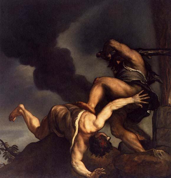 TIZIANO Cain and Abel
