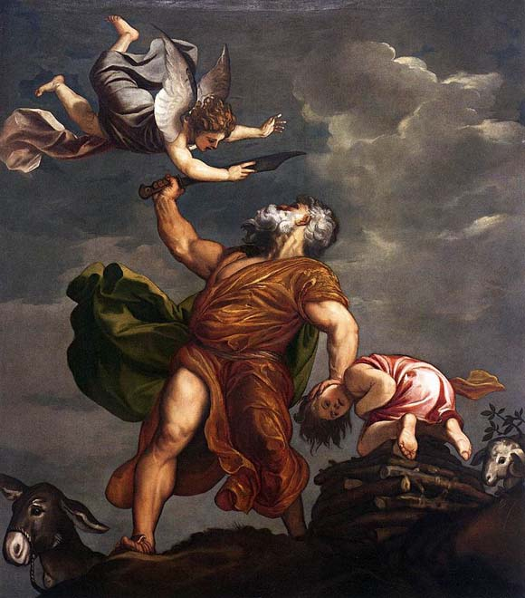 TIZIANO  Sacrifice of Isaac